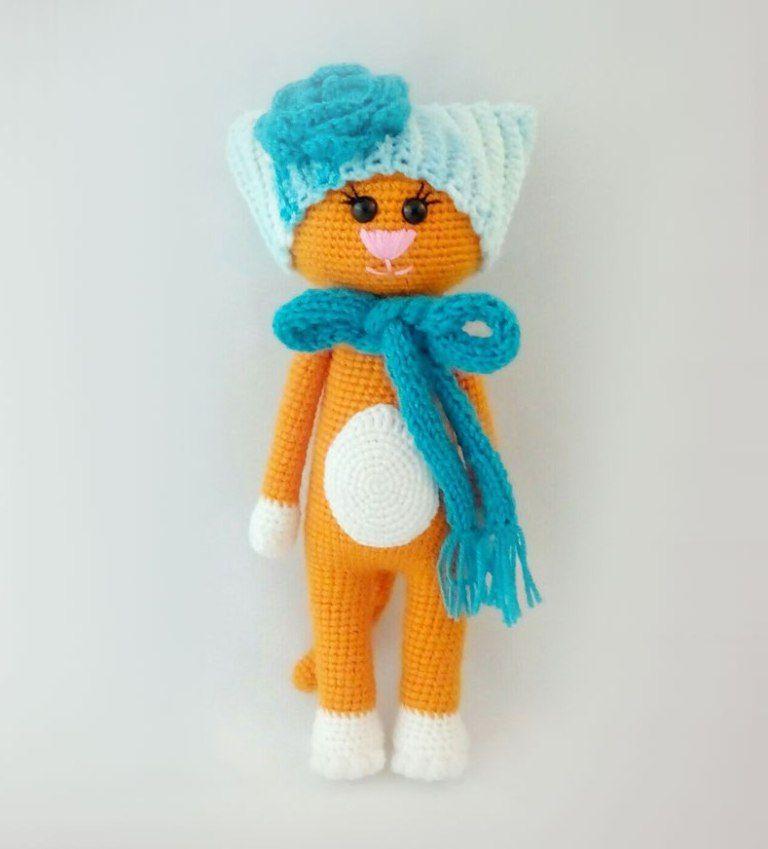 Free Crochet Cat Pattern Amigurumi Amigurumi Minta Pinterest