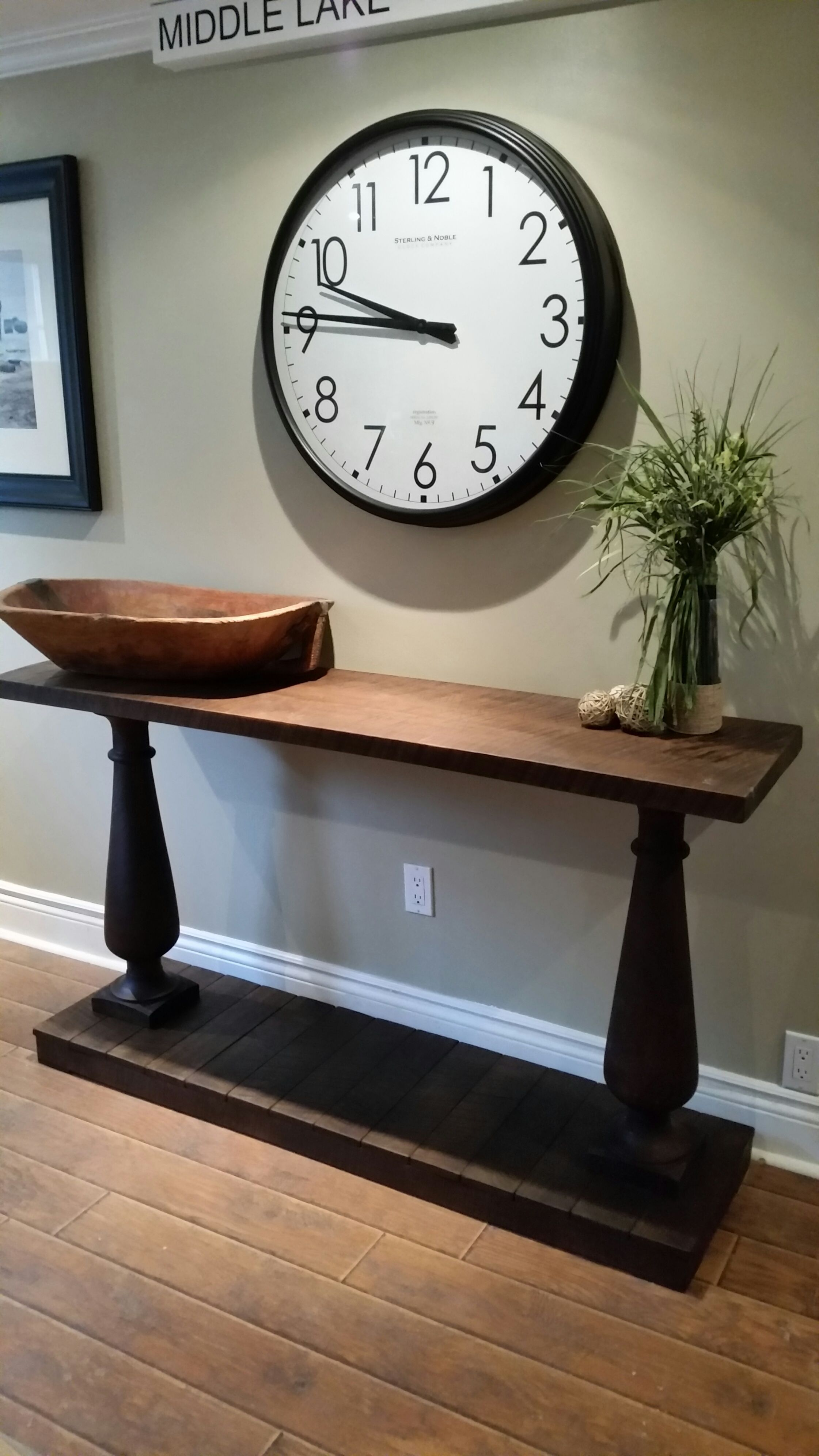 reclaimed walnut entry table diy entryway table entry on small entryway console table decor ideas make a statement with your home s entryway id=94330