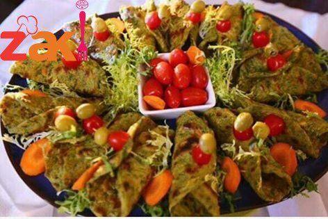 خبز عروق خضراوات كتير طيب و بشهي و الطعم ولا أروع زاكي Food Best Dishes Recipes