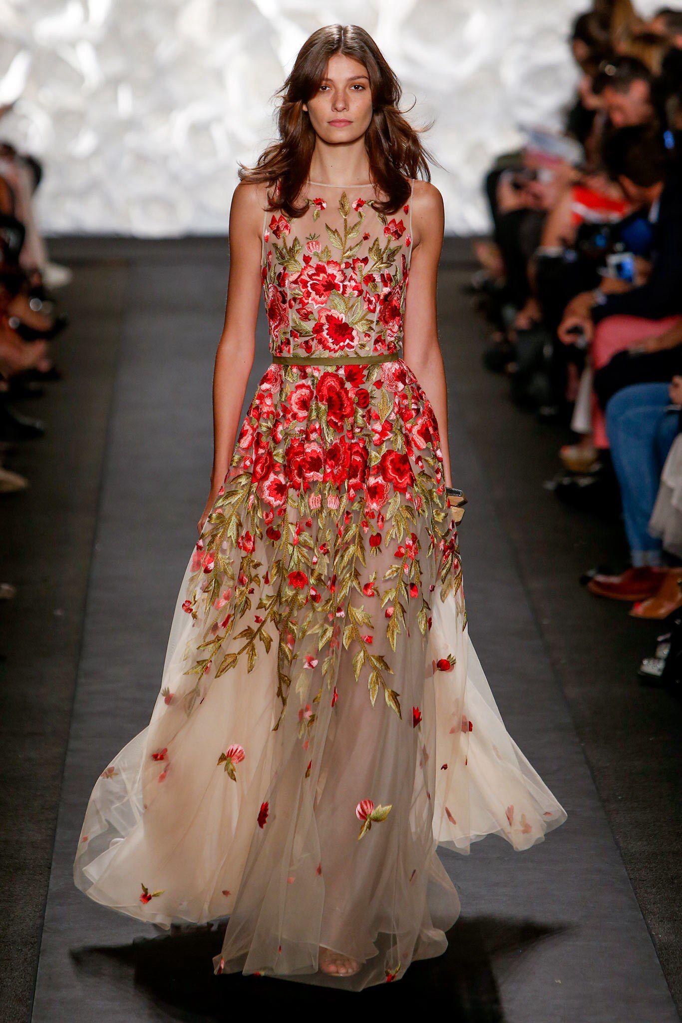 Naeem khan spring readytowear fashion show naeem khan