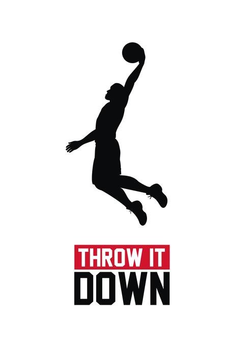 Basketball Dunking Logo Logo Design Contest In 2020 Logo Design Contest Logo Design Custom Logo Design
