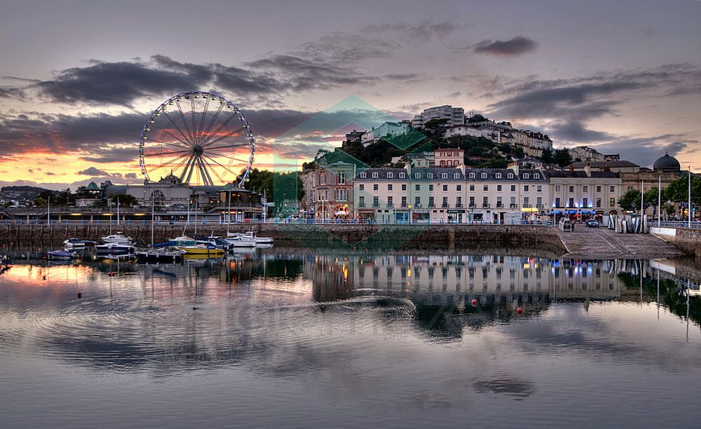 Torquay Harbour and the Big Wheel