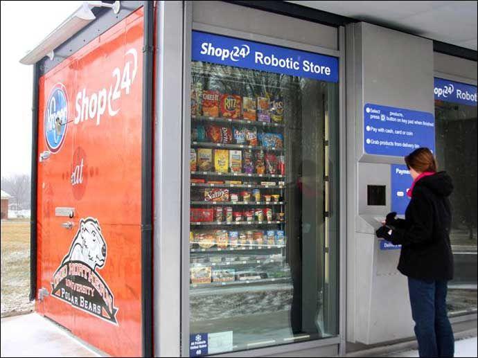 Kroger Shop24 Kiosk Grocery Vending Machine Locker Storage Vending Machine Vending Machine Business