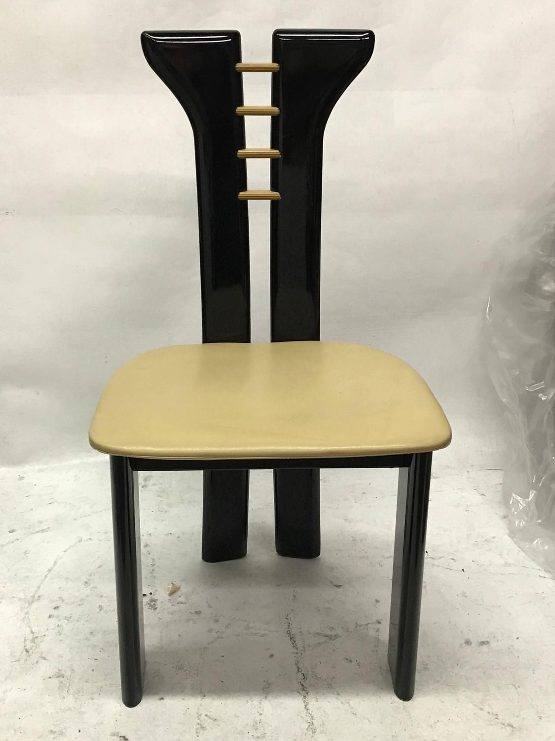 set of six dining chairs by pierre cardin - Set Of Six Dining Room Chairs