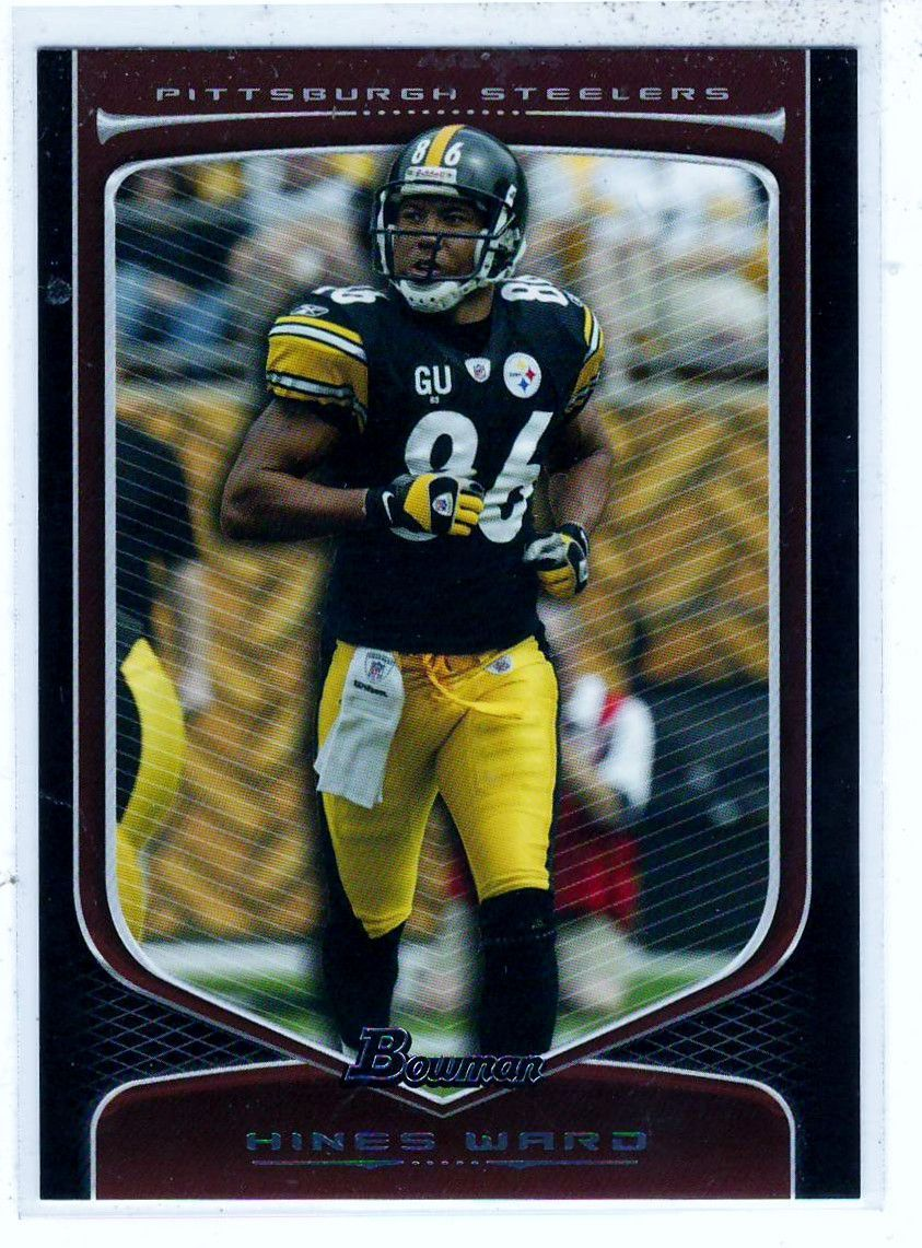 Sports Cards Football - 2009 Bowman Hines Ward
