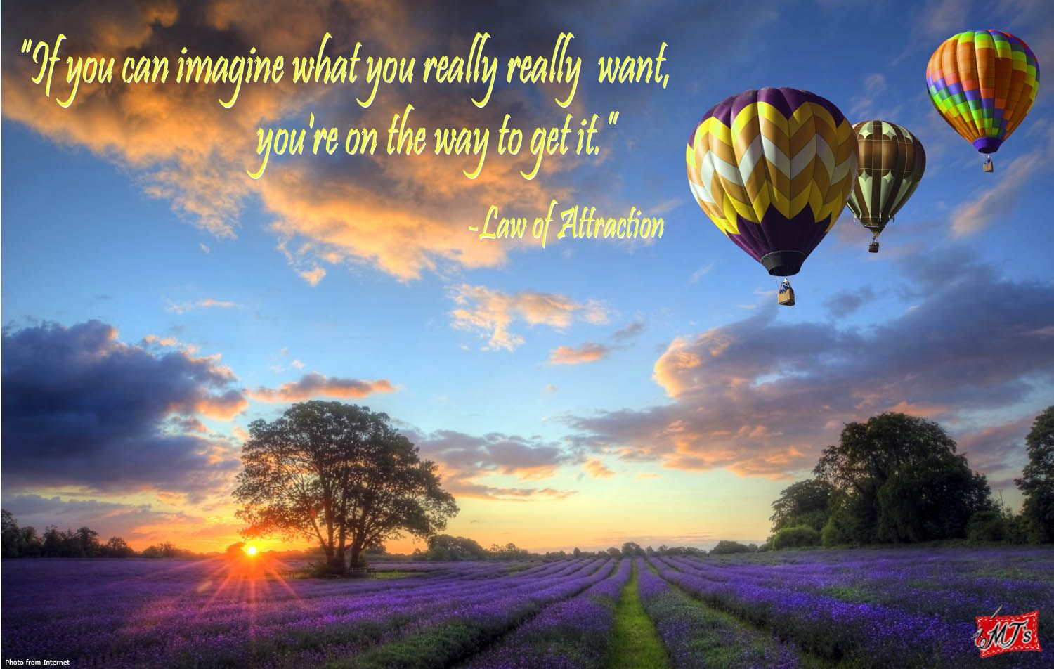 """""""If you can imagine what you really really want, you're on"""