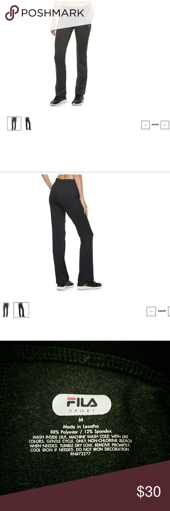 e8c1709290de5 Women's FILA SPORT Movement Straight-Leg Pants New! Never worn! Fila Pants  Straight Leg