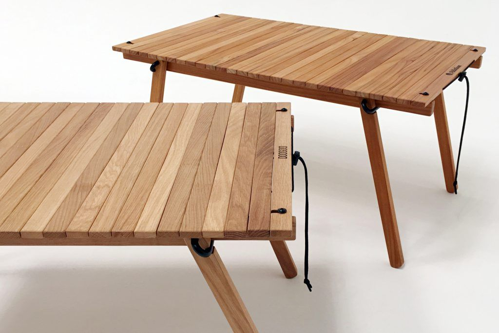 The Table 420 Oak Doogoo Camping Table Camping Furniture Table