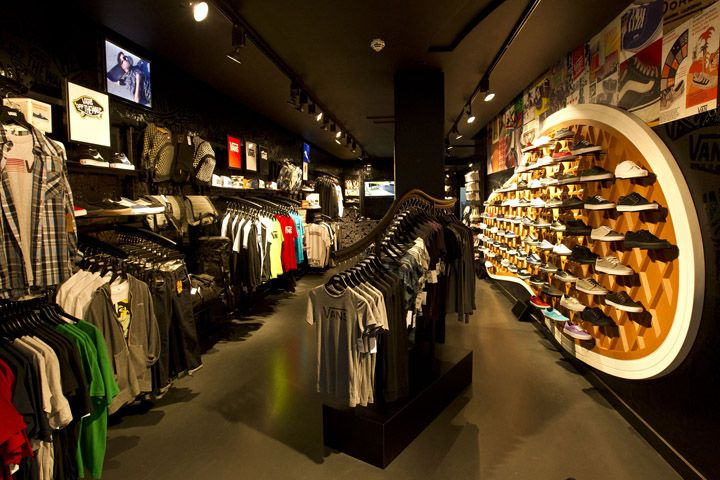 vans flagship store munich store design pinterest. Black Bedroom Furniture Sets. Home Design Ideas