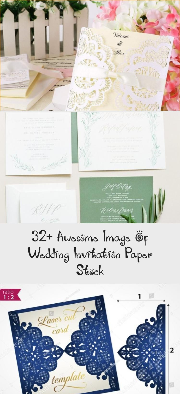 32 Awesome Image Of Wedding Invitation Paper Stock Wedding Invitations Boho Wedding Invitations Wedding Invitation Paper
