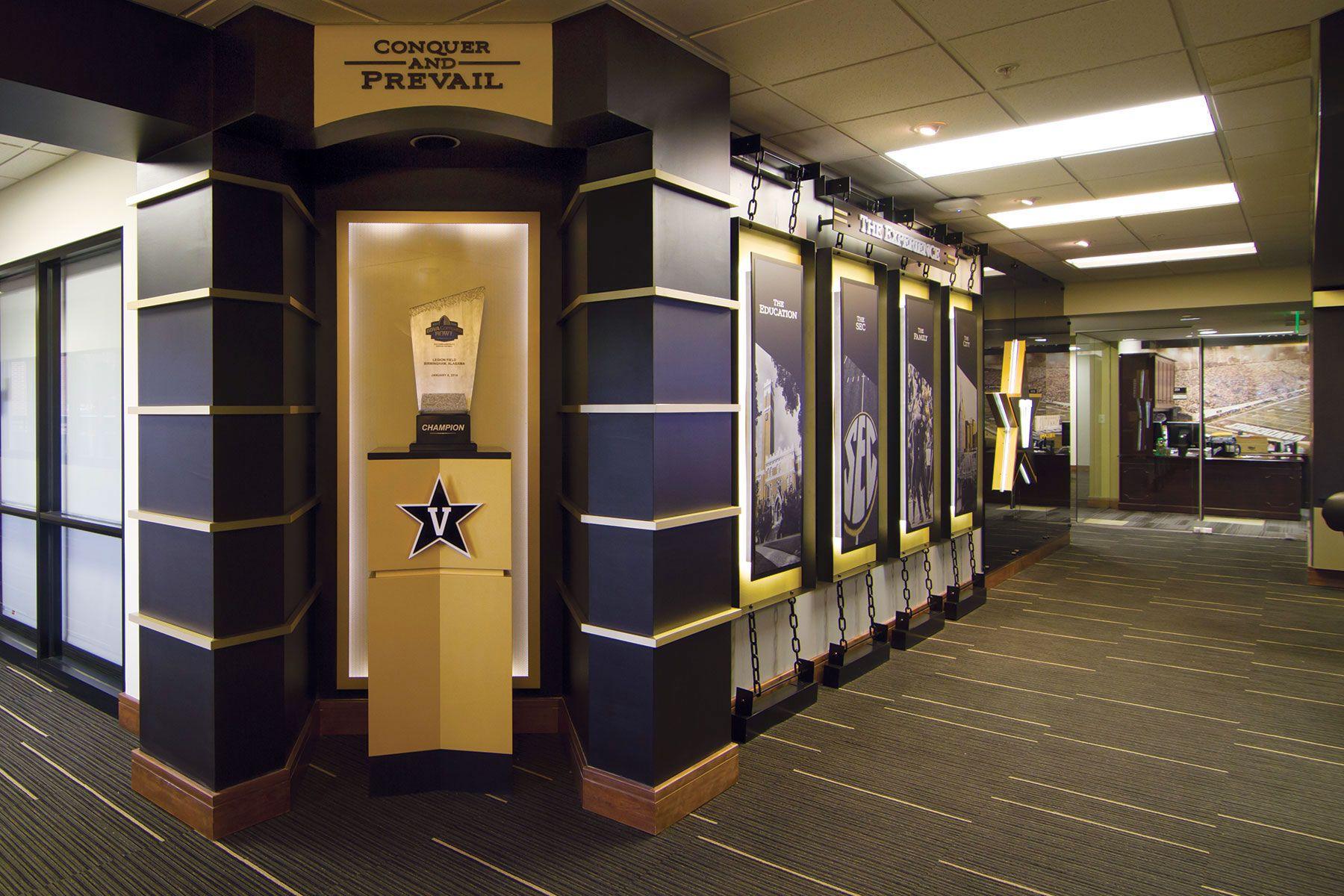 Vanderbilt Football Lobby
