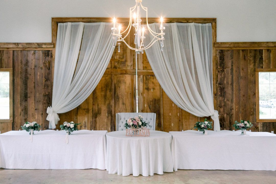 The Barn Draped In Flowing Fabric And Lit With Chandeliers Montana Wildflower Weddings In 2020 Wildflower Wedding Wild Flowers Sky Photography