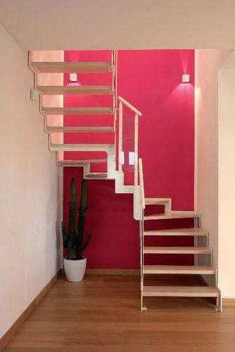 Escalera En U Con Zancas Laterales Estructura Met Lica Y