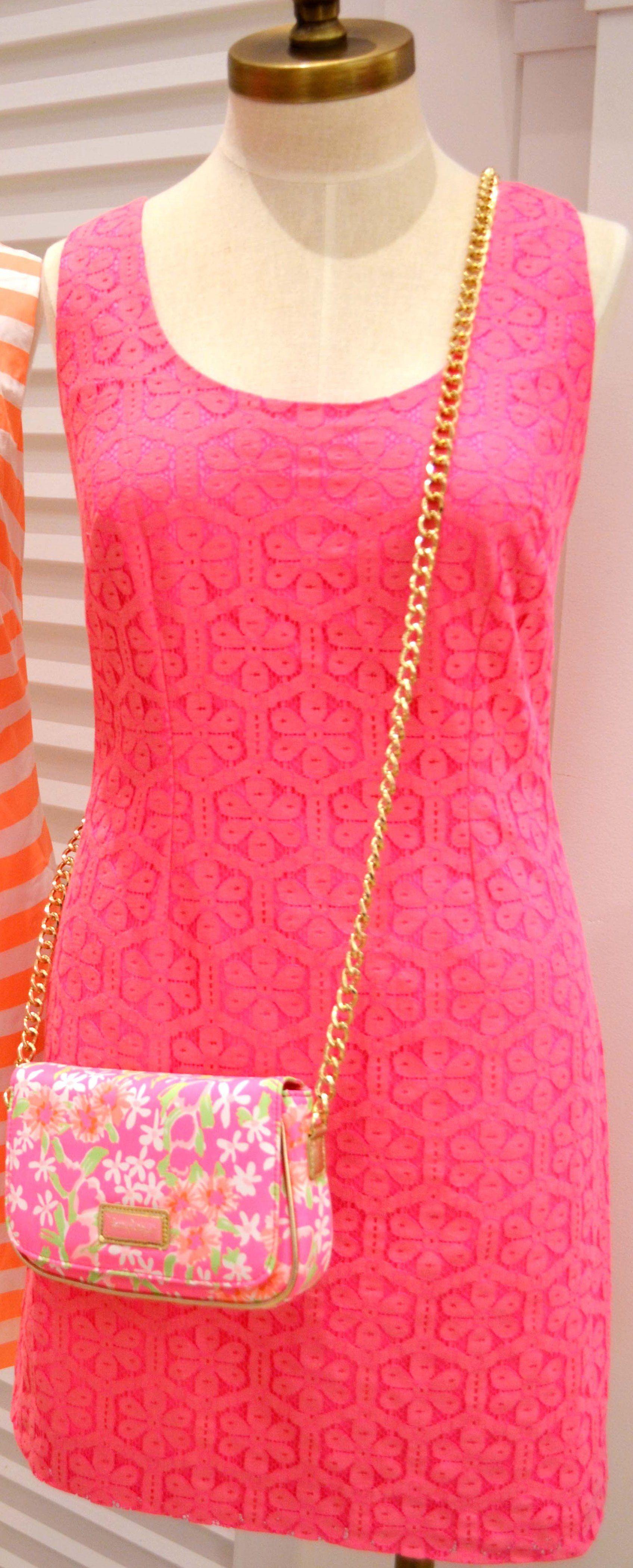 Lilly Pulitzer Spring \'13- Lonnie Dress in Fiesta Pink Daisy Lane ...