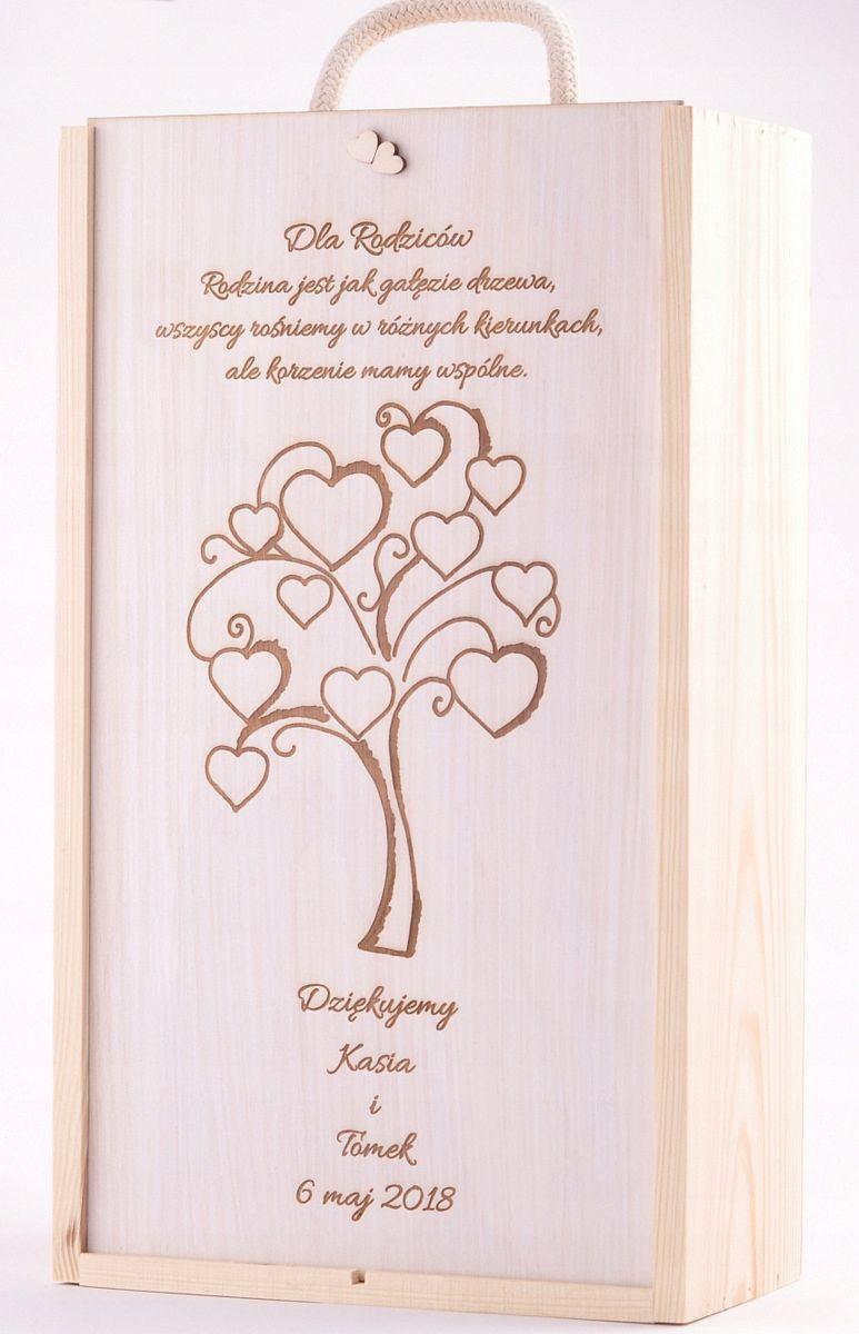 Skrzynka Grawerowana Prezent Skrzynka Na Wino Slub 7550844500 Oficjalne Archiwum Allegro Decoupage Box Wood Wine Box Gifts For Wine Lovers