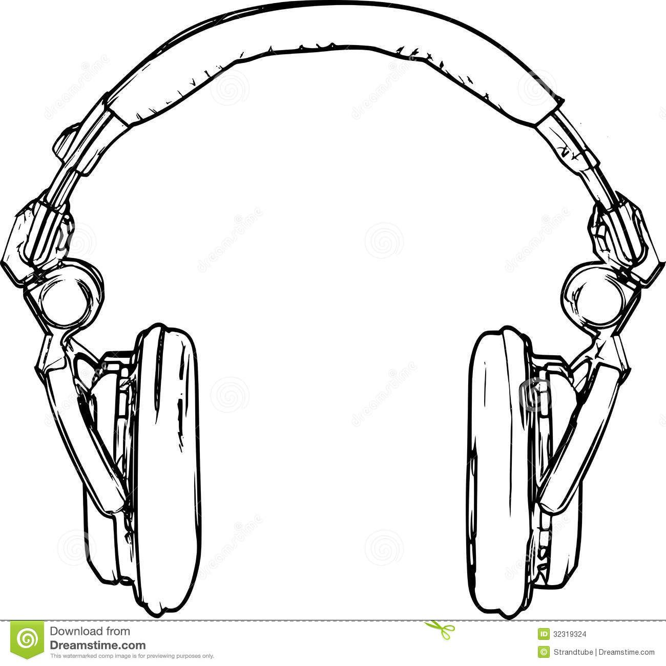 Headphone sketch google search