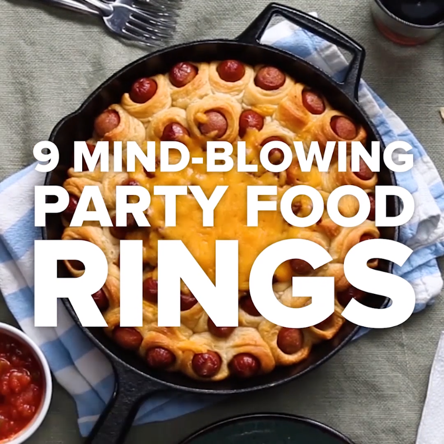 9 Mind Blowing Party Food Rings