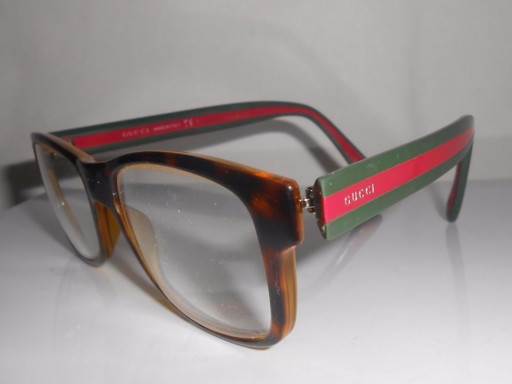 981c0f8b9fe Gucci Eyeglasses Sunglasses Frames 1046 Red Green Tortoise  Gucci ...