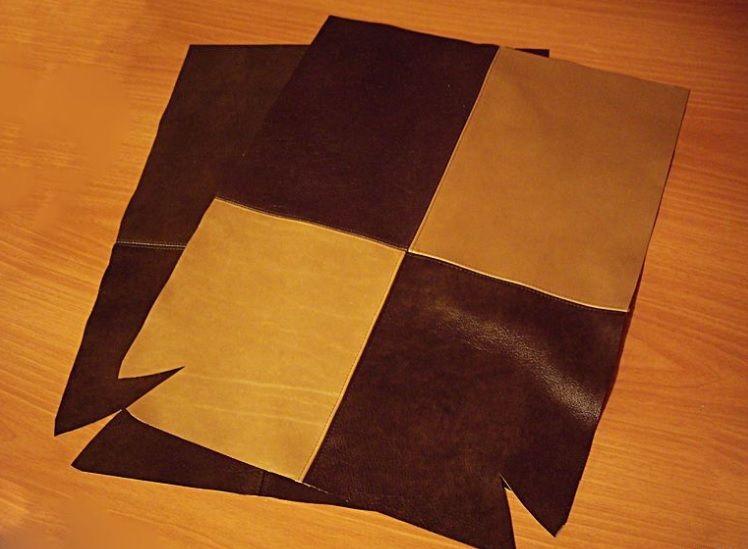 Кожаная сумка своими руками выкройка мастер класс 79