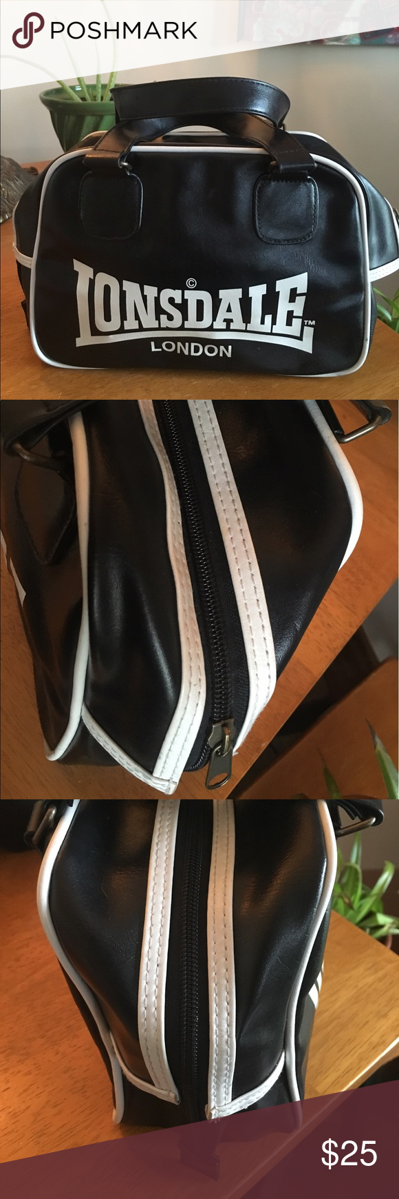 728eaf6fd7f3 Lonsdale bowling bag barely used Lonsdale of London bowling bag! Barely  used. No wear or tear outside. Small usage inside lonsdale Bags Mini Bags