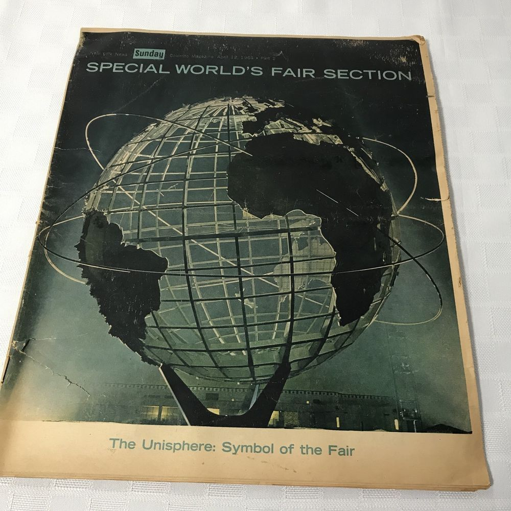 1964 GM Vintage General Motors ENGINEERING JOURNAL FUTURAMA New York Worlds Fair