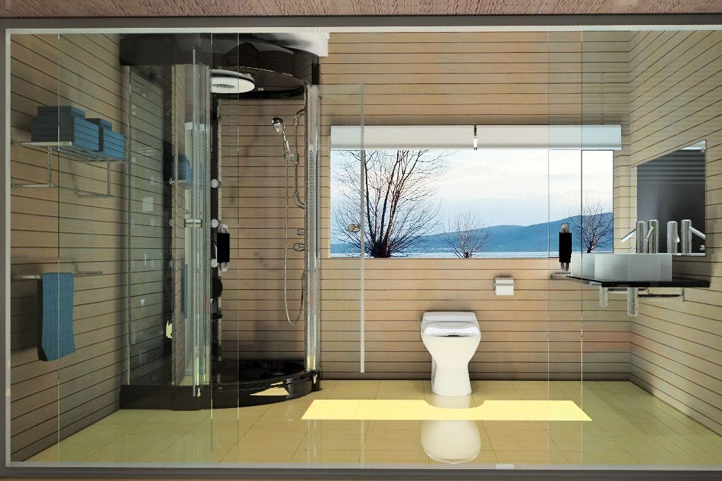 Full Body Shower And Heated Bathroom Floors Shower Panels Bathroom Flooring Body Shower