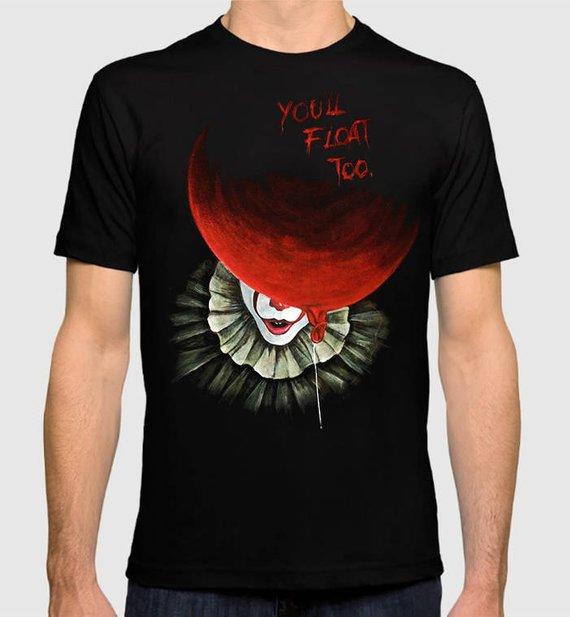 Pennywise The Dancing Clown IT Horror Pop Culture Men/'s T-Shirt