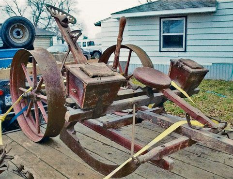 The Corn Planter Was Invented In 1836 By Henry Blair It Made Corn