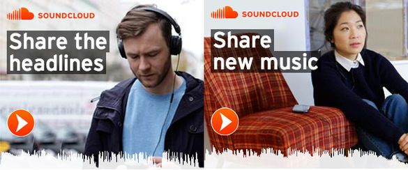Soundcloud creates a banner ad you can hear malvernweather Image collections