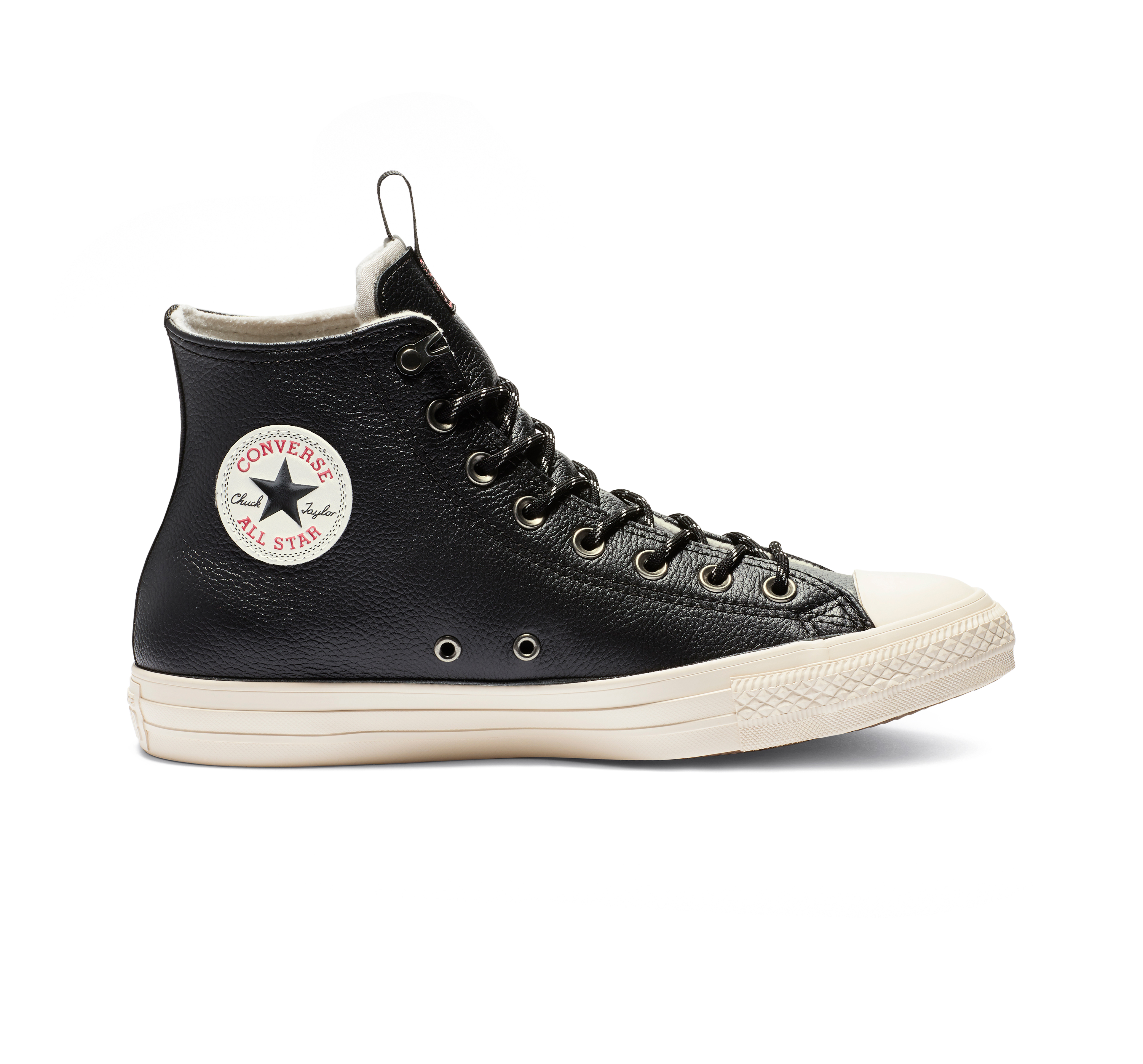 Escupir Escuchando amenazar  Chuck Taylor All Star Desert Storm Leather High Top | Chuck taylors, Leather  converse, Black chucks