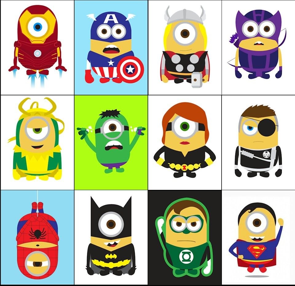 Super minions... justice league of minions... The avenging minions!