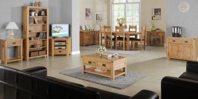 Malvern Oak Furniture Dining & Lounge  Living Room  Pinterest Captivating Dining Room Oak Furniture Design Inspiration