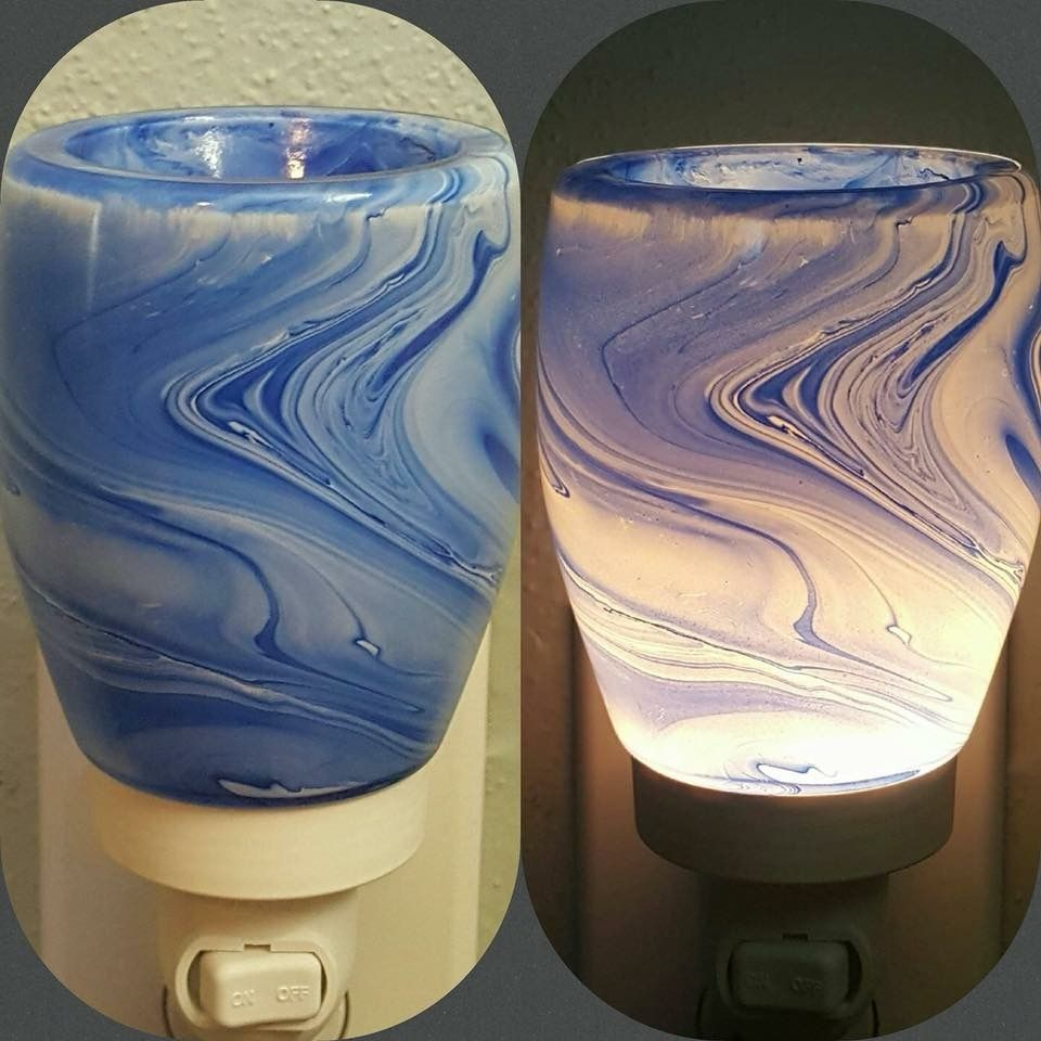 Pin By Julie A Steele On Scentsy Scentsy Blue Watercolor Decor