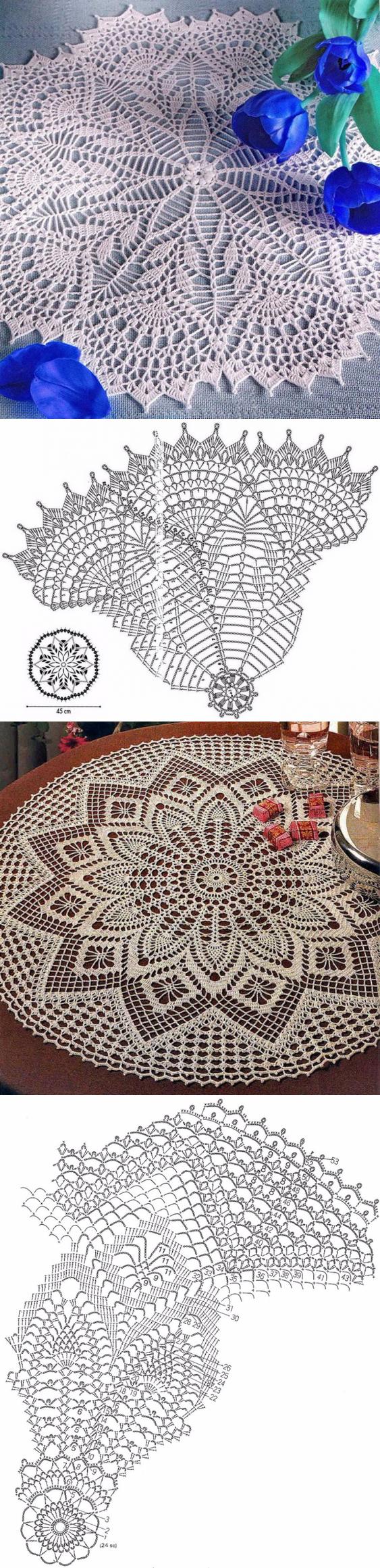 вязание | Carpeta, Ganchillo y Carpetas crochet