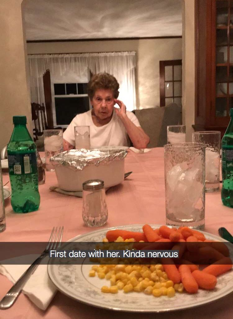 On A First Date Kinda Nervous Meme