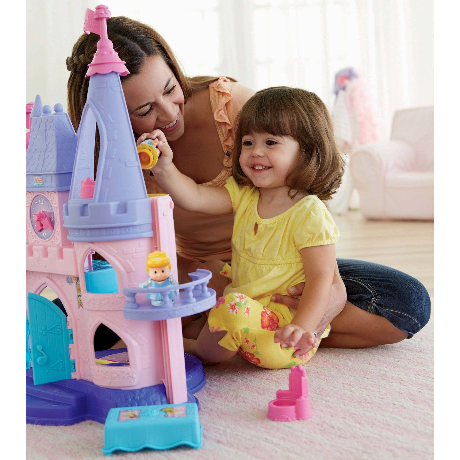 Nearly all little girls love castles princesses and playing make