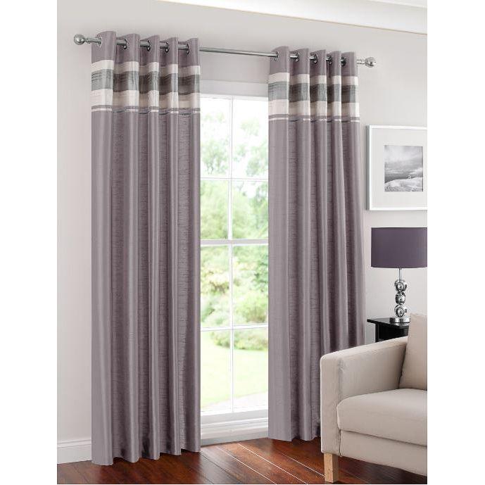 Bedroom Design Images Bedroom Valances Bedroom Curtains Uk Bedroom Bin B M: Napoli Pleated Border Fully Lined Eyelet Curtain 46 X 72