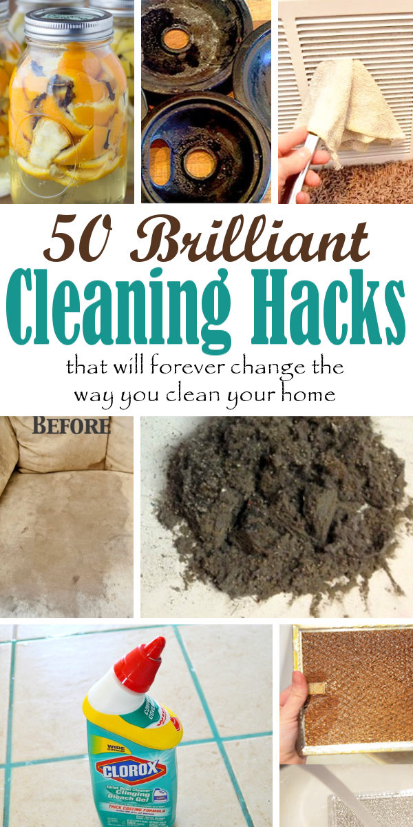 Miraculous 50 Brilliant Cleaning Hacks For Every Room In Your Home Download Free Architecture Designs Terchretrmadebymaigaardcom