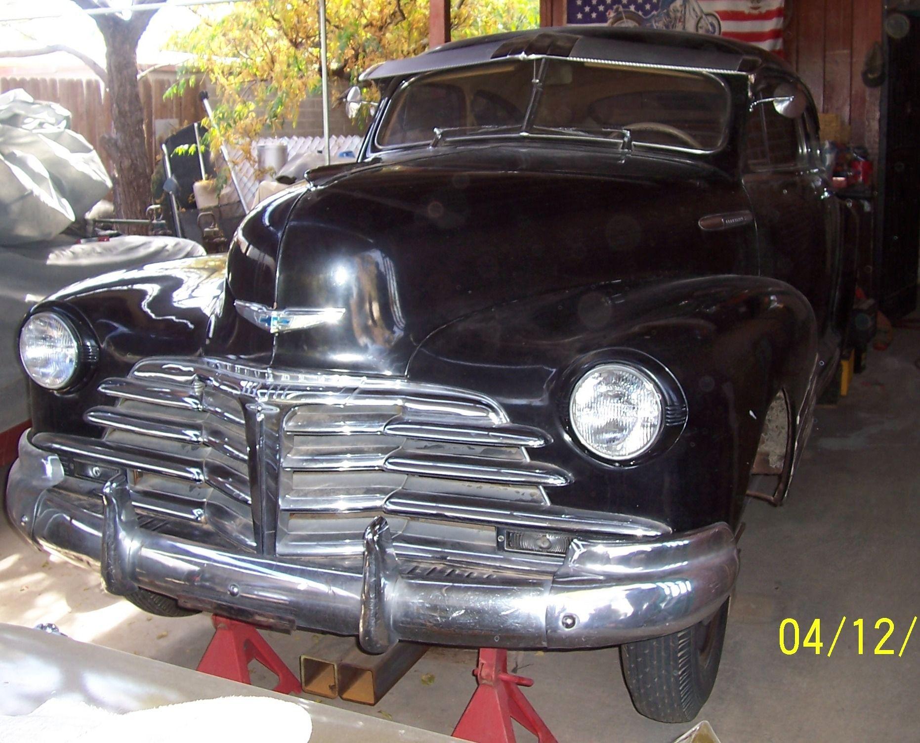 Rolling On... A 1948 Chevrolet Fleetline Survivor! Very rare model ...