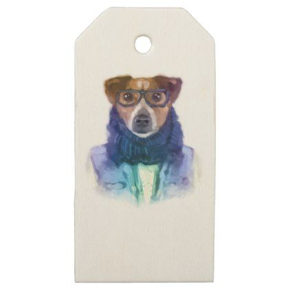 My dog two wooden gift tags animal gift ideas animals and pets my dog two wooden gift tags animal gift ideas animals and pets diy customize negle Images