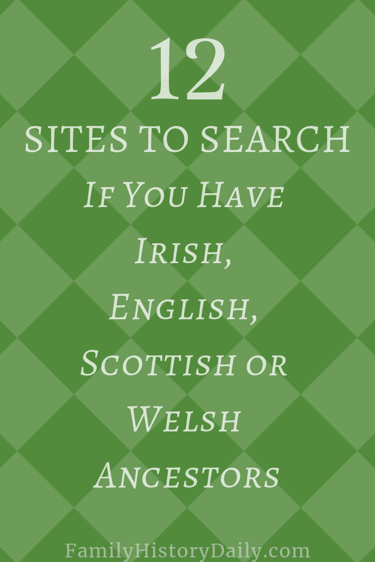 12 Genealogy Sites You Must Search If You Have UK Ancestors #genealogy