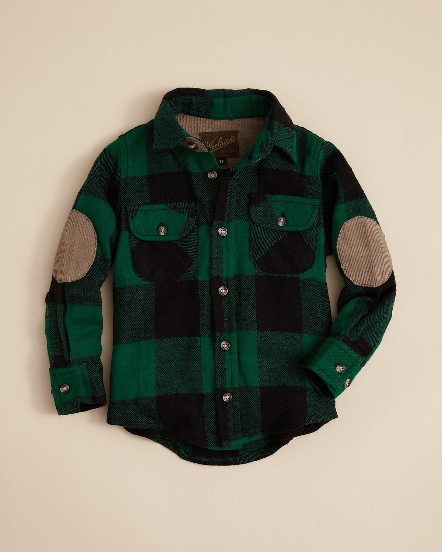 970fd9dc9dcc $36 Woolrich Infant Boys' Flannel Shirt - Sizes 12-24 Months |  Bloomingdale's