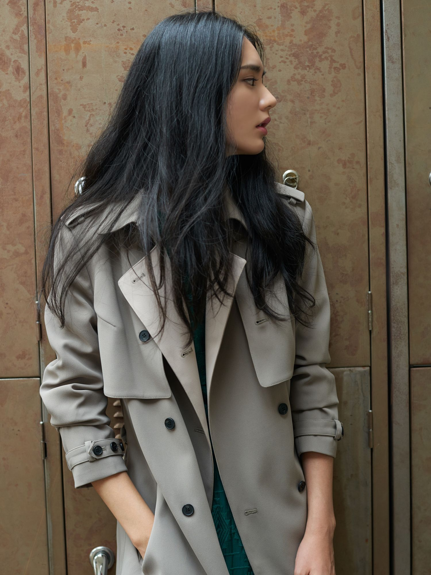 FRONTROW [FRONTROW X JO5]15FW Gianna Straight Trench