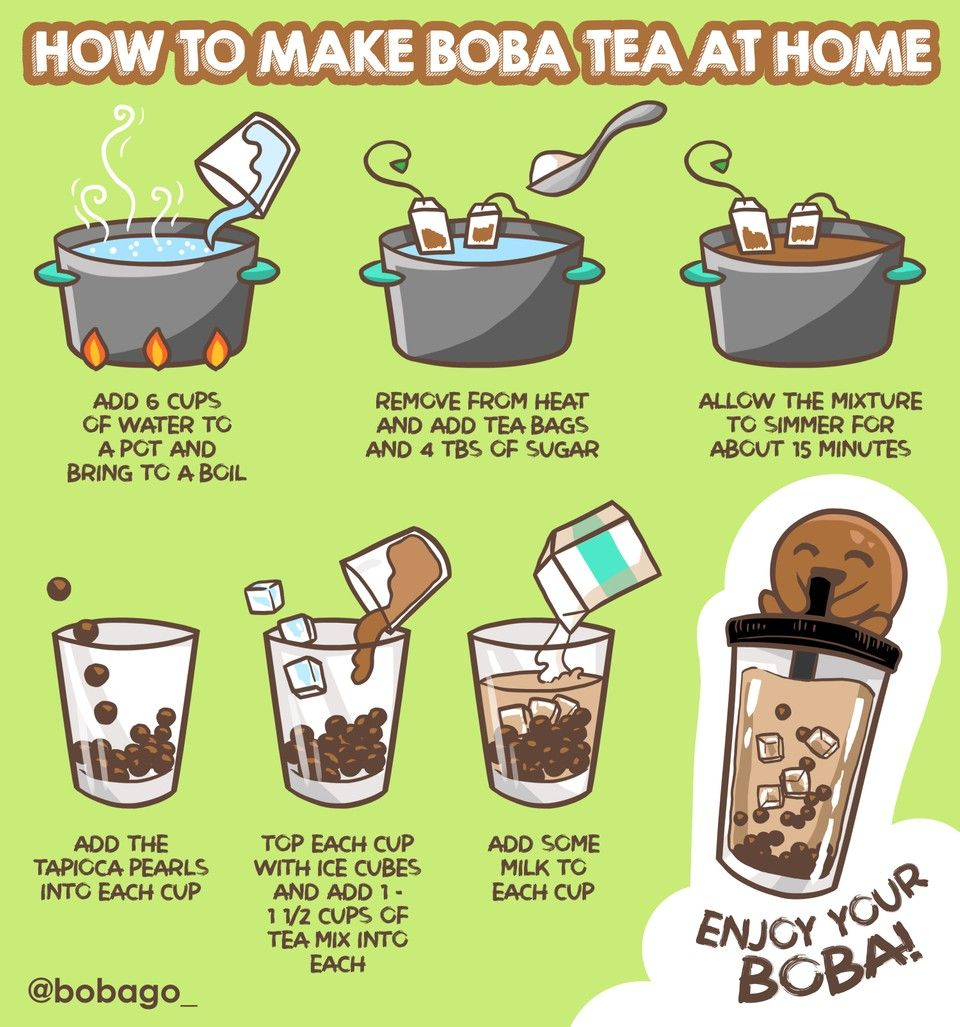 How To Make Boba Tea At Home Bubble Tea Recipe Boba Tea Recipe Milk Tea Recipes
