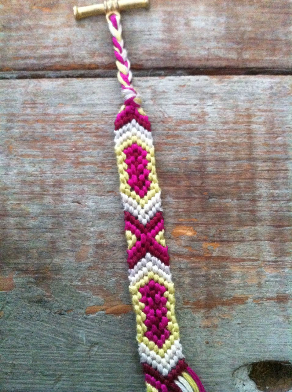 Added by laurenb Friendship bracelet pattern 2169 | Friendship ...