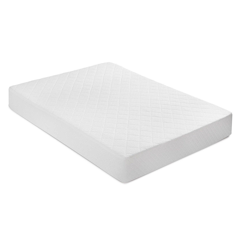 the bed boss 8 inch visco elite certipur us memory foam mattress
