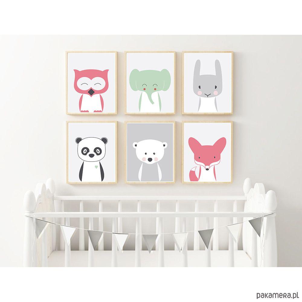 Plakat Dla Dzieci Zwierzęta Miś Polarny A3 W 2019