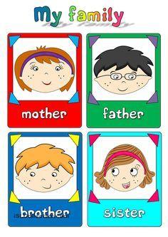 My family - flashcards