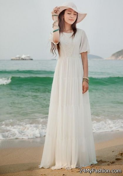 068bcadb9a4a white summer maxi dresses 2017-2018 » B2B Fashion