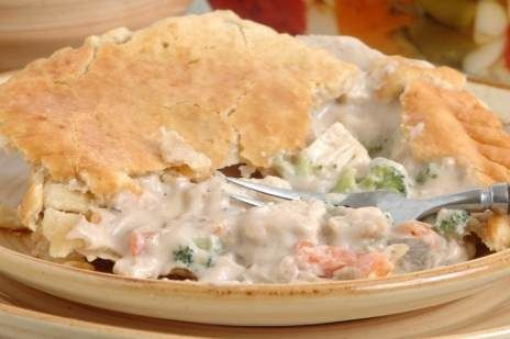 Mr monks chicken pot pie is hard to find just remember you must this chicken pot pie recipe is hearty fare for hungry folks if you thought frozen chicken pot pie was good food you need to try this homemade version forumfinder Gallery